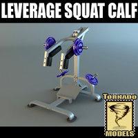Powertec Leverage Squat Calf