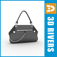 Grey handbag 02 by 3DRivers