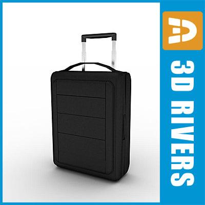 traveller bag 3d model