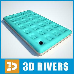 air bed 3d max