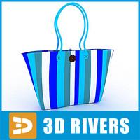 3d beach bag