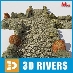 parks eco stone road 3d x