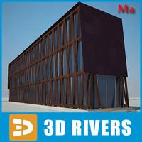 3d ma building house 13