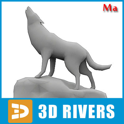 polygonal wolf 3d x