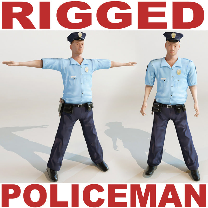 policeman rigged max