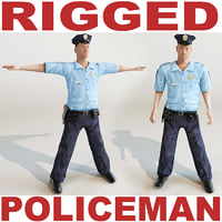 Policeman Rigged