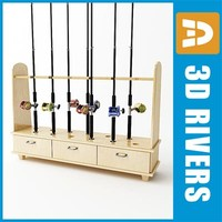 Rod rack by 3DRivers