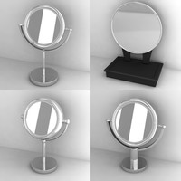 3d mirrors cosmetic model