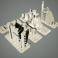 Industrial Structures Set 209