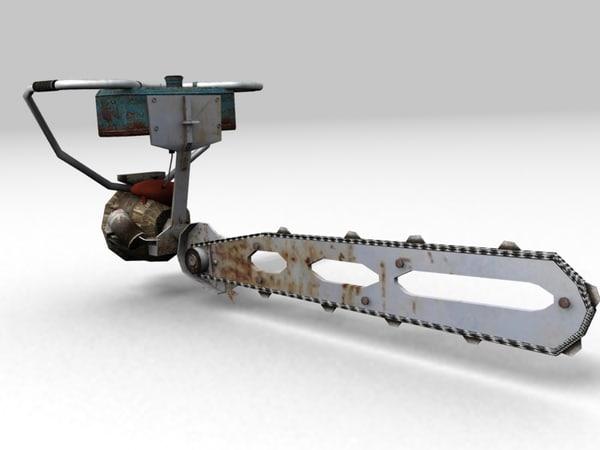 3d max russian chainsaw friendship