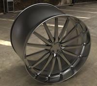 free max model car rim