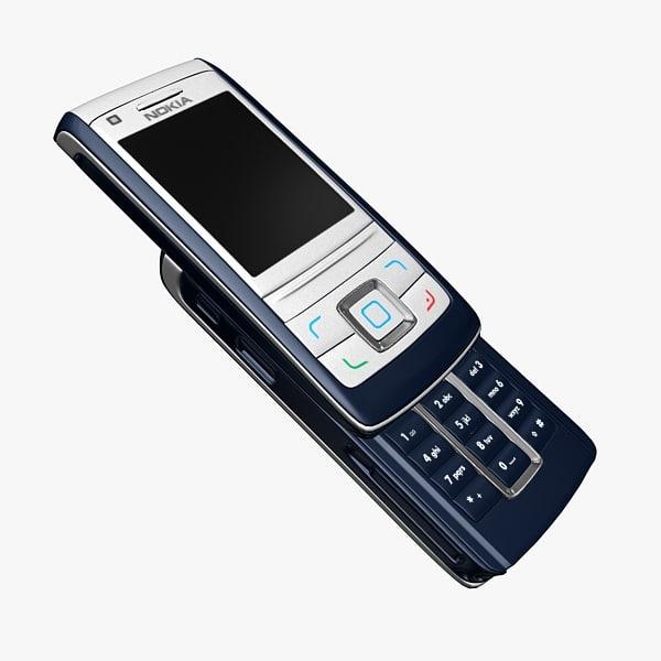 nokia 6280 cellphone 3d model