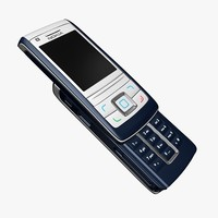 nokia 6280 cellphone 3d model
