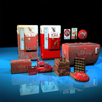 cola machines 01 3ds