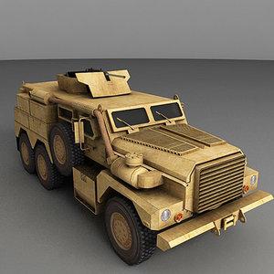 3d cougar 6x6
