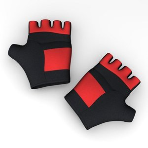 gloves accessories 3d model