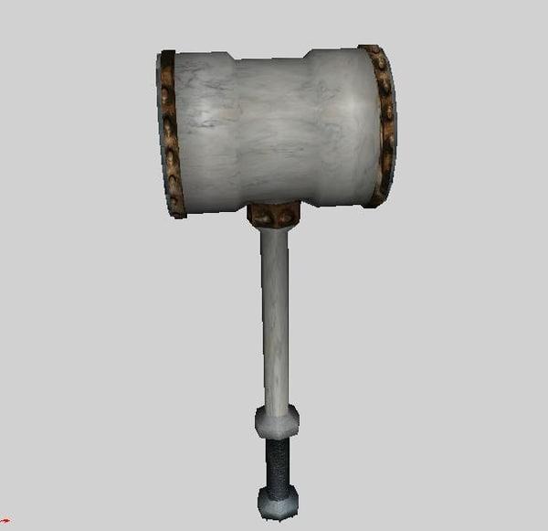 hammer large obj free