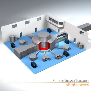 3d model isis neutron accelerator