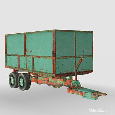 trailer farm 3d 3ds