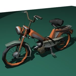 3d bike motorbike model