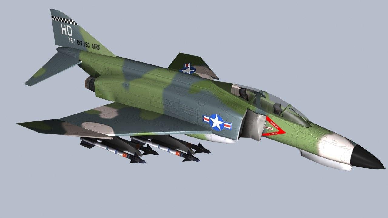 3d model f4 phantom