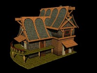 2 story country 3d ma