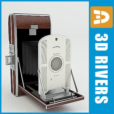 polaroid camera 3d max