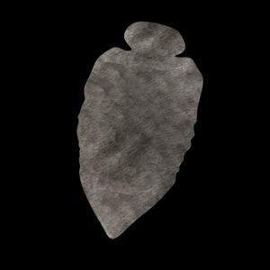 3d prehistoric tool