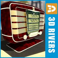 Retro radio 02 by 3DRivers