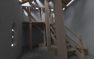 free obj mode house ruins