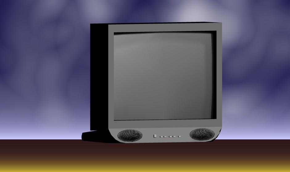 crt television monitors dwg