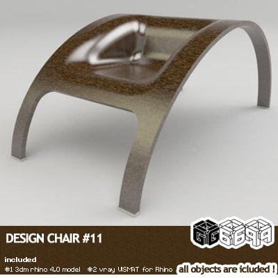 rhinoceros design 3d model