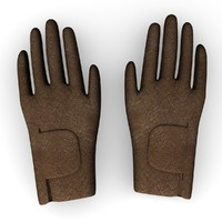 gloves winter 3d model