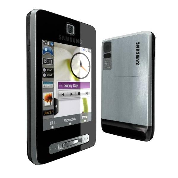 samsung touchwiz f480 3d model