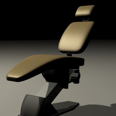 dentist chair 3d max