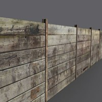 wooden fence 3ds