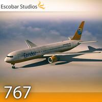 3d 3ds b 767-300