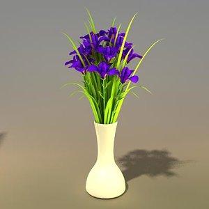 flower bouquet 3ds