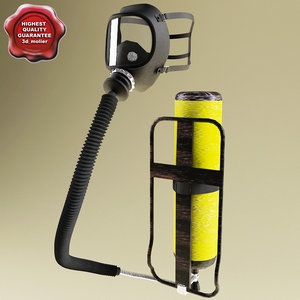 3d model breathing apparatus