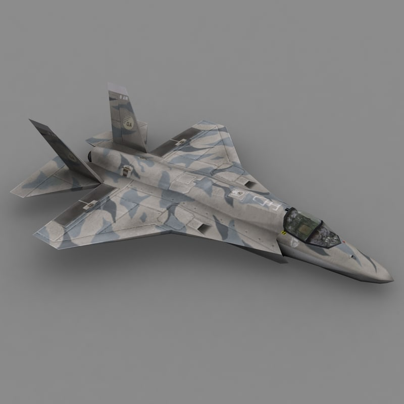 3d f35 fighter