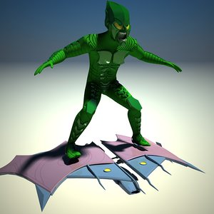 green goblin 3d model
