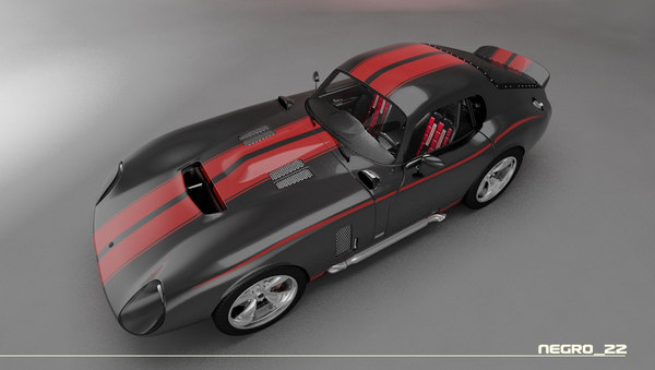 max shelby cobra daytona car