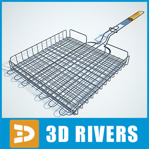 barbecue grate 3ds