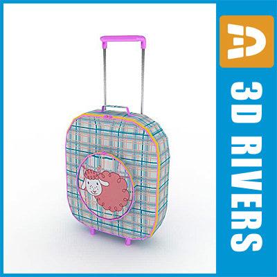 3ds max kids bag