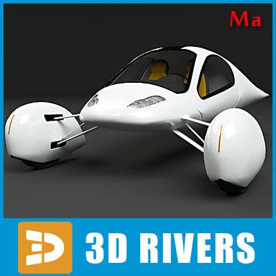ma futuristic vehicle aptera