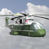marine vh-71 kestrel helicopter 3d max