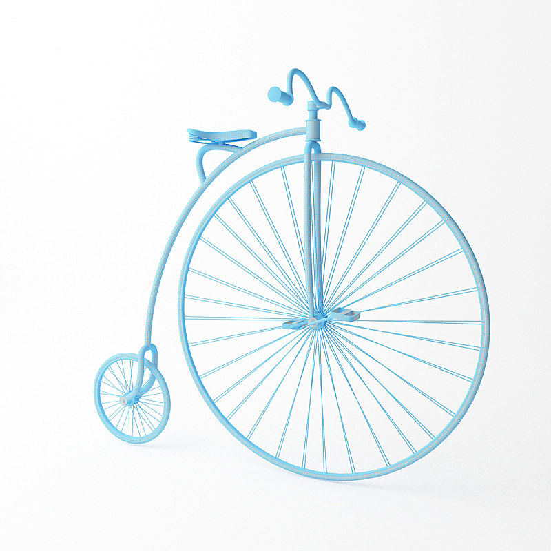 penny-farthing bicycle max