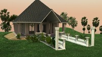 wedding chapel 3d x