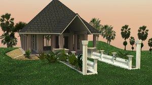 wedding chapel 3d x