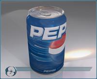 3d model soda tab